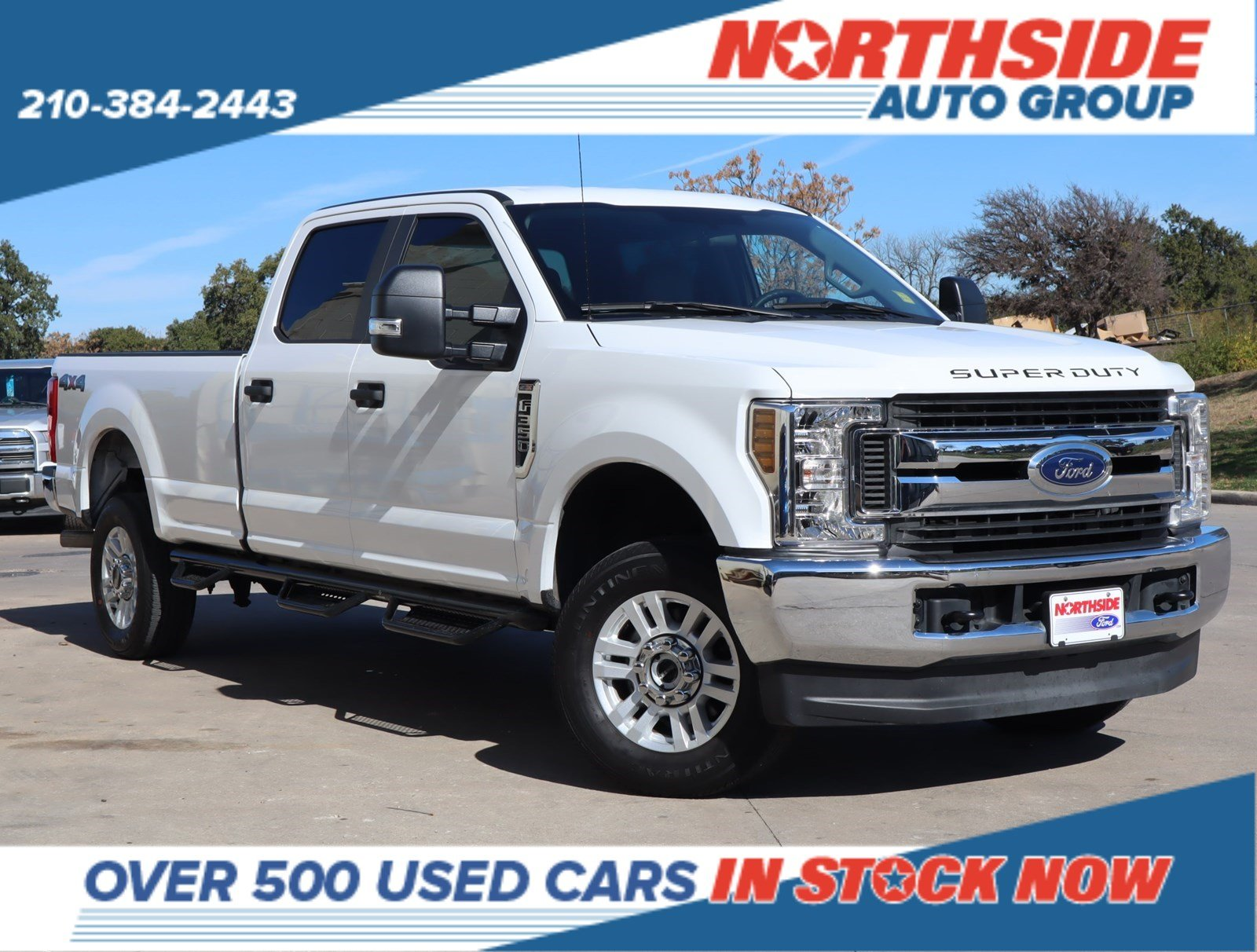 Pre-Owned 2019 Ford Super Duty F-350 SRW XL