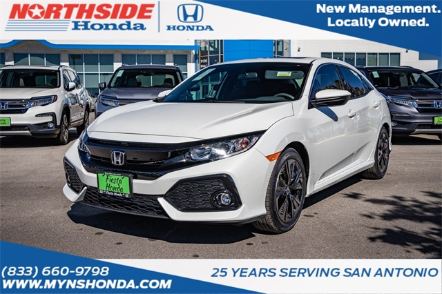 New 2018 Honda Civic EX