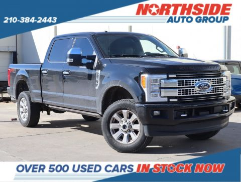 Pre-Owned 2017 Ford Super Duty F-250 SRW Platinum